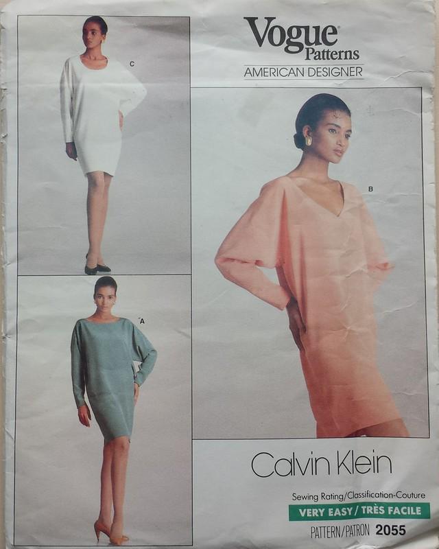 vintage Vogue 2055 Calvin Klein