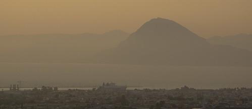 city sea sky mountain landscape cityscape land
