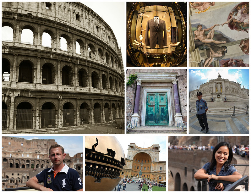 Collage-Italy.Rome
