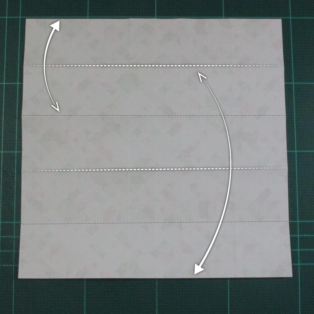 วิธีพับกล่องของขวัญแบบมีฝาปิด (Origami Present Box With Lid) 012