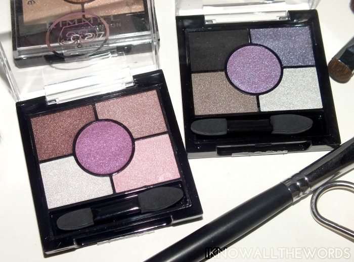 Rimmel Glam'Eyes HD 5 Colour Eye shadow- royal rose and purple crown