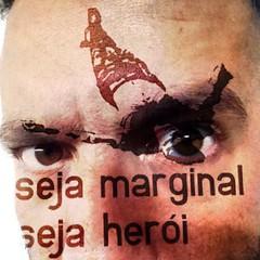 #Marginal & #Herói #selfie sobre #Oiticica #selfieking