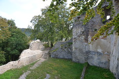 Ferrette.Les ruines du château de Ferrette.5