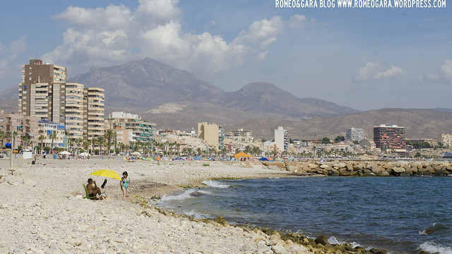 Playa Can de El Campello: Platja Punta del Riu