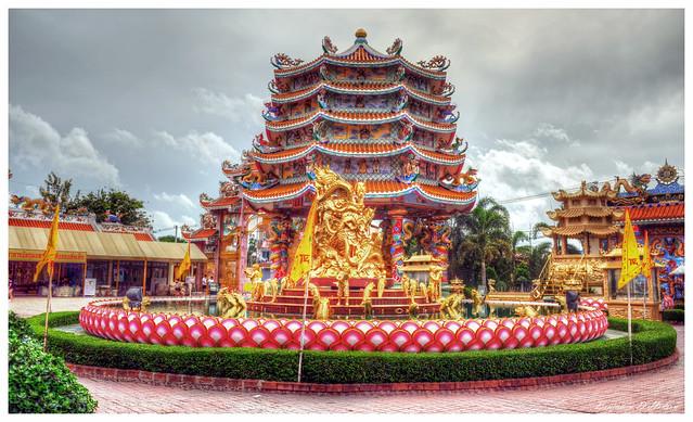 Najasaataichue Chinese Temple Pagoda