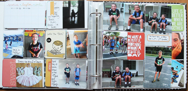 Project Life 2014   Weeks 32,33,&34