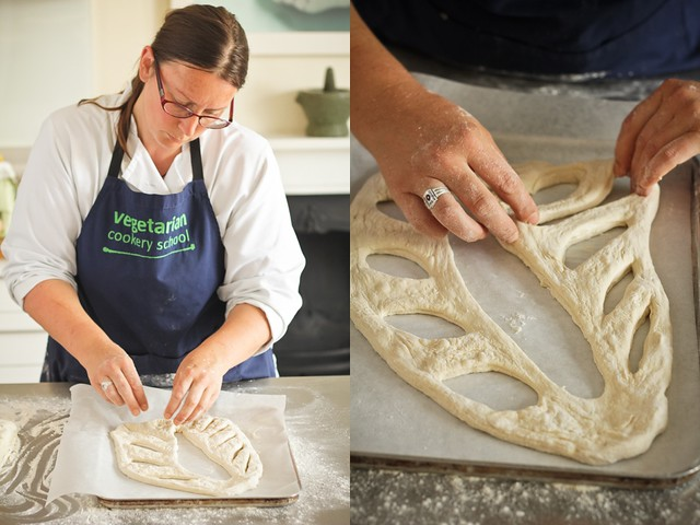 Making Fougasse