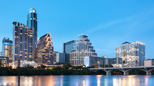city longexposure travel sunset vacation sky tourism water skyline architecture canon buildings austin lights twilight downtown skyscrapers tourist le coloradoriver bluehour austintx downtownaustin pwpartlycloudy