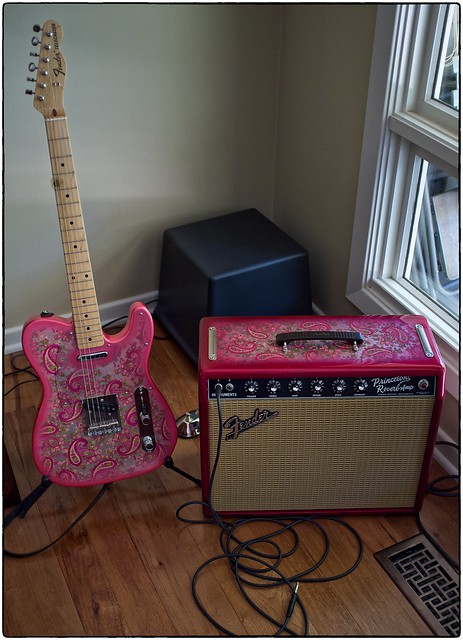 Syd The Paisley Tele And A Madcap Amp, September 21, 2014