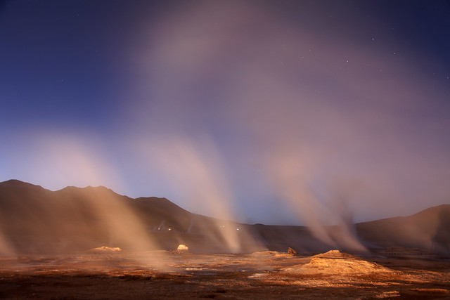 El Tatio Dawn by James Stimac, Santa Rosa, California, USA.