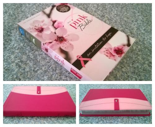 NIV Pink Bible Collage