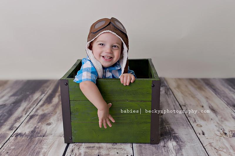 15141203245 ebd681e26b c Little Elm Baby Photographer   Isaac is One!