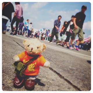 Yokota Air Base Friendship Festival 2014 #teddybear #tullysbearful