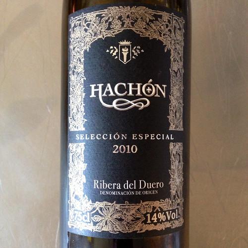 Hachon Ribera del Duero 2010.