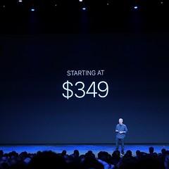 Цена Apple Watch. А еще в них есть NFC для Apple Pay. Доступны в начале 2015.