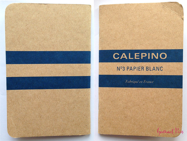 Review: Calepino No. 3 Papier Blanc Notebook @NoteMakerTweets @Calepino