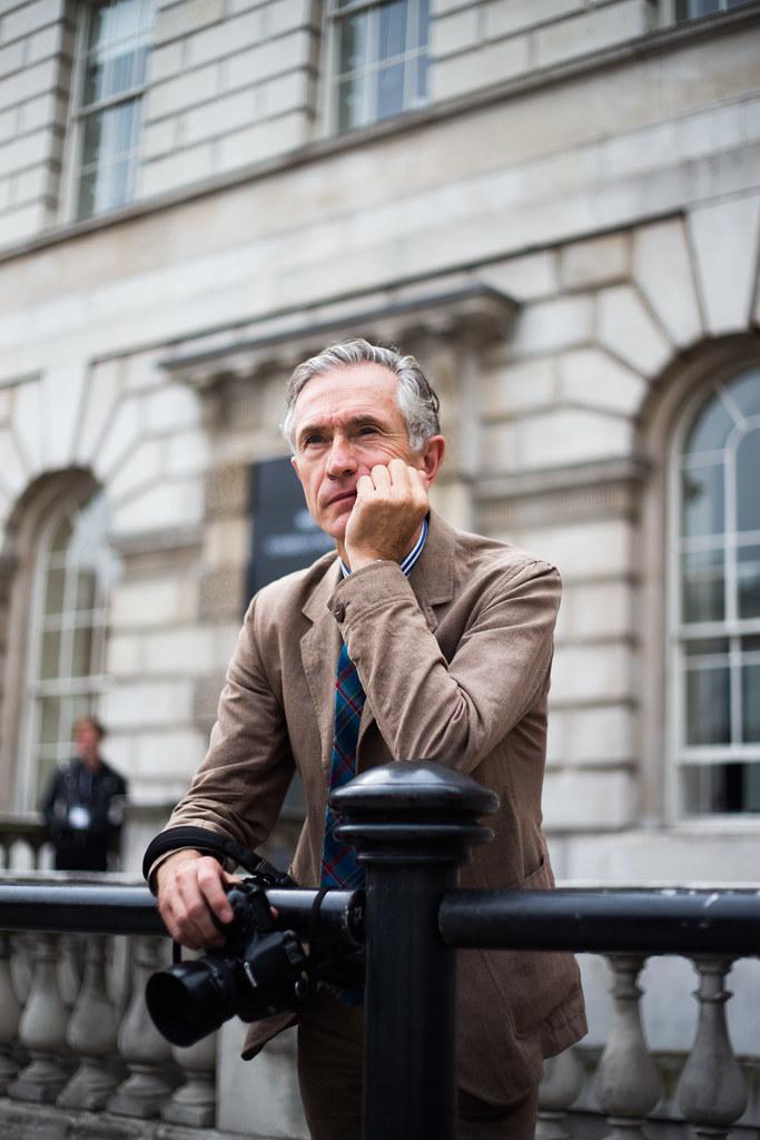 Street Style - David Evans, London Fashion Week