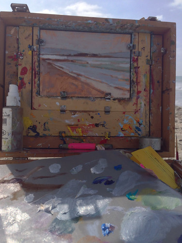 Painting in Coronado