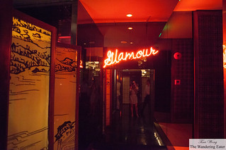 Entrance to Glamour Bar