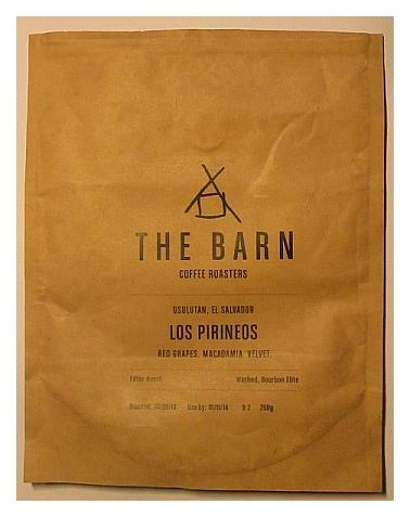 Kuva Los Pirineos -kahvipussista.