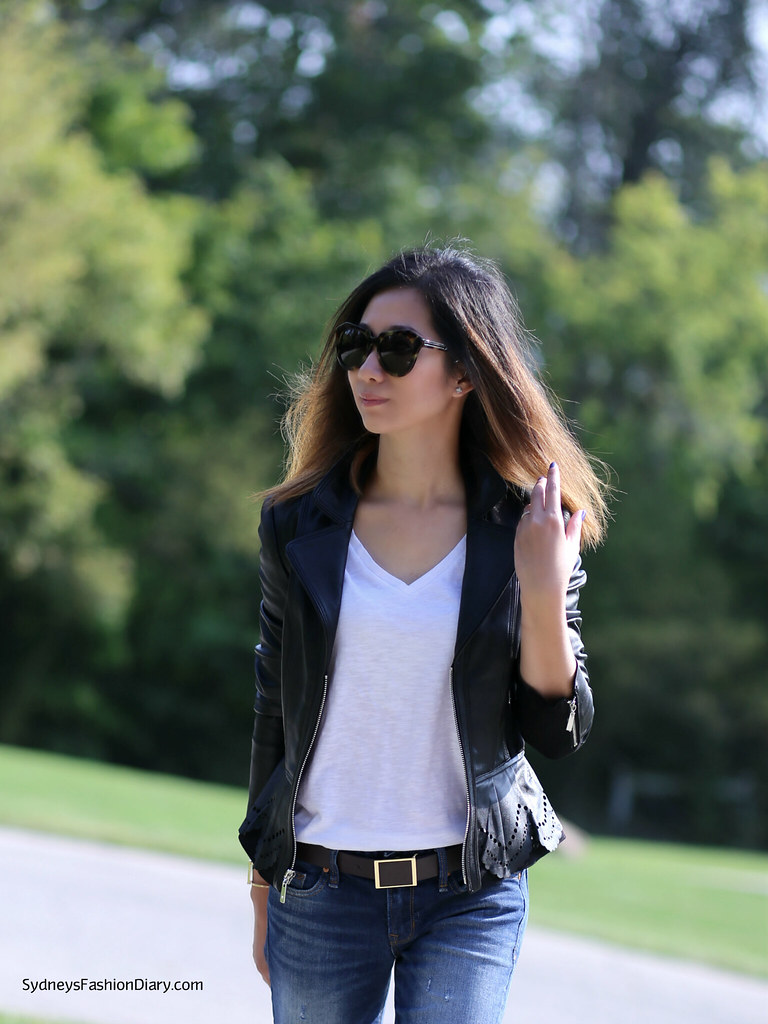 WHBM Leather Jacket