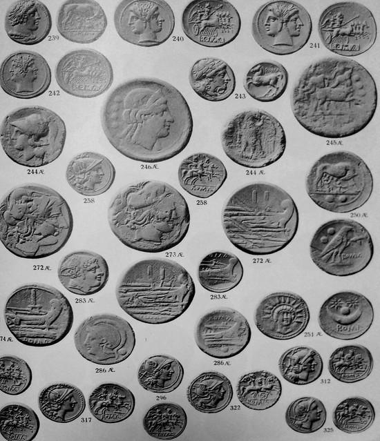 Hamburger 96 25th Oct 1932 Jameson coll, two 56 Minerva prow dupondii