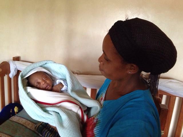 Mama Mapenzi with Baby Chea