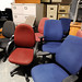 Wide selection of office chairs