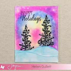 Joy Clair Stamps - Happy Holidays