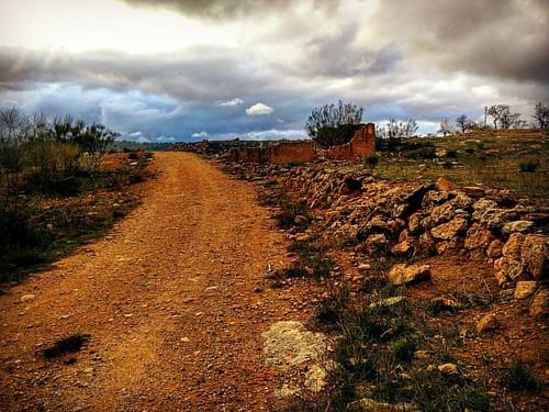 Camino de la bolea. Alcadozo (Albacete, Spain)