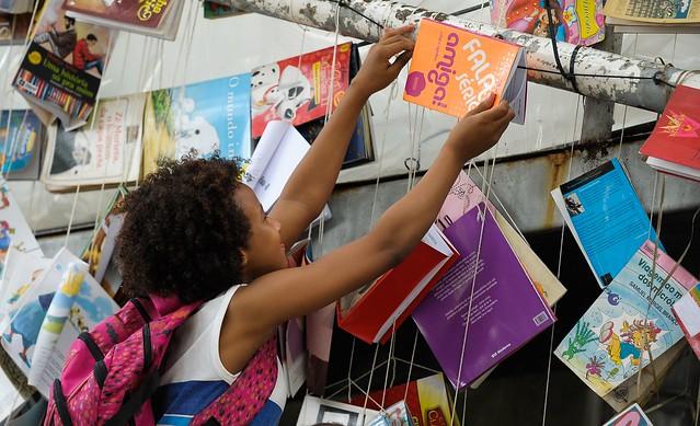 Festa Literária das Periferias (Flupp) acontece até domingo (13) na Cidade de Deus, zona oeste do Rio - Créditos: Tomaz Silva/ Agência Brasil