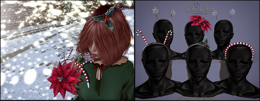 Headbands by ChicChica @ Tannenbaum soon! - SecondLifeHub.com