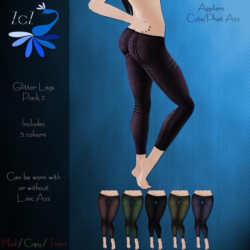 ZcZ Glitter Legs Pack 2 - vendor ad