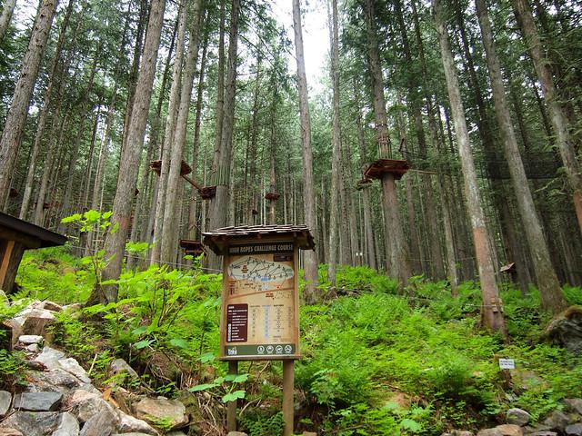 Sky Trek in Revelstoke, British Columbia