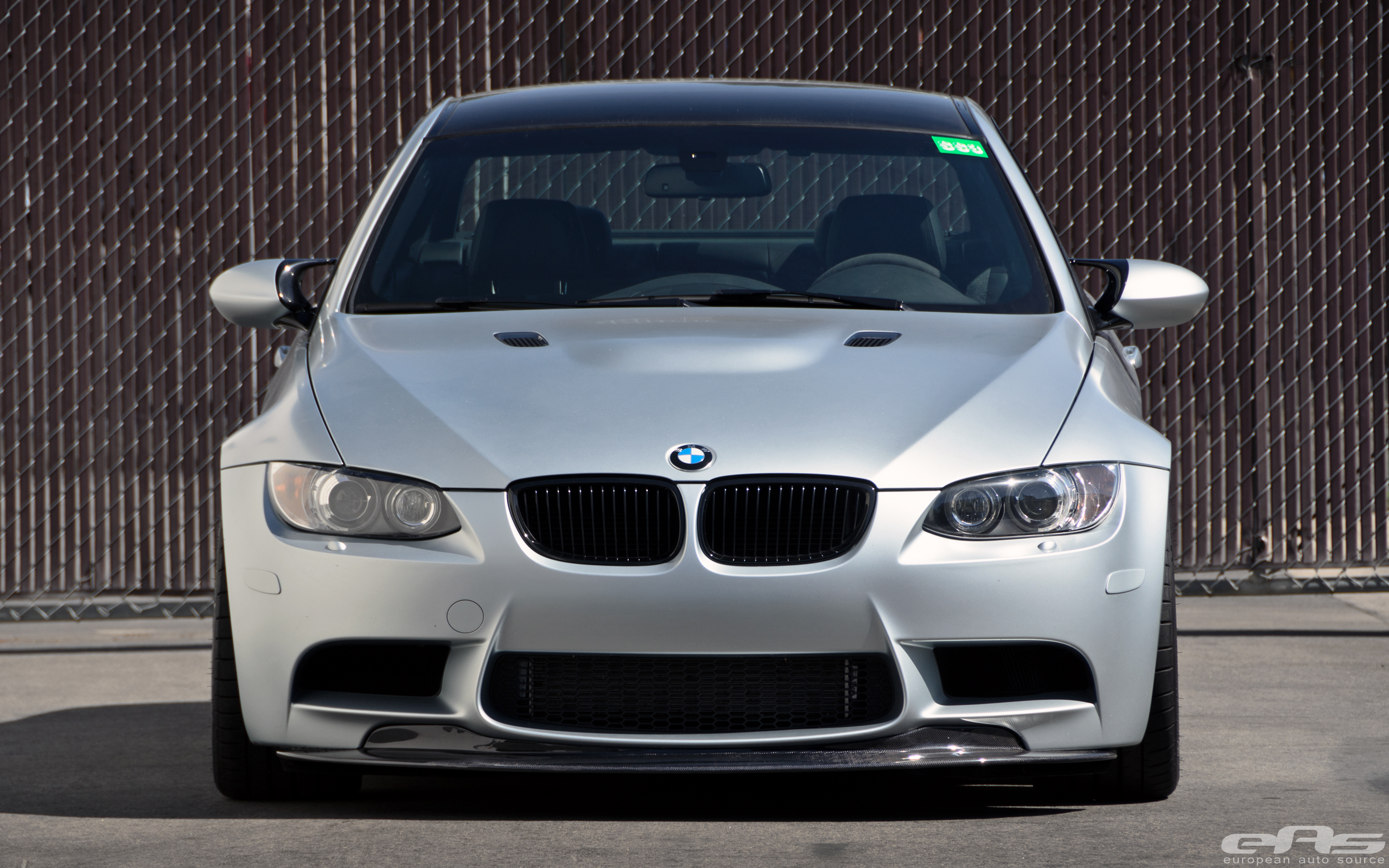 Mode Carbon Lip Amp Diffuser Installed On Frozen Silver M3