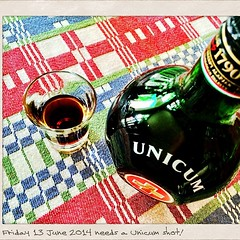 Friday 13  needs a Unicum Shot #Unicum #friday13 #2014Friday13