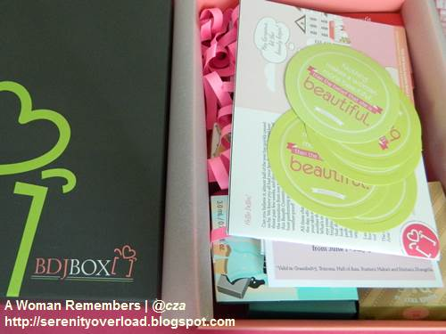 BDJ_box_Benefit-cosmetics,BDJ box, Benefit cosmetics,BDJ box June 2014