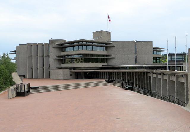 A deserted Trent University