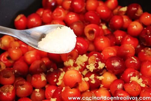 Chutney de cerezas www.cocinandoentreolivos (10)