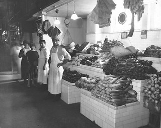 Photograph of a Modern Fruit and Vegetable Stand in Center Market, 10/1922