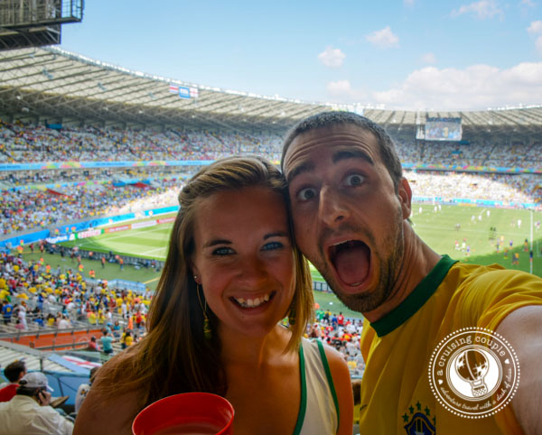 A Cruising Couple at the World Cup