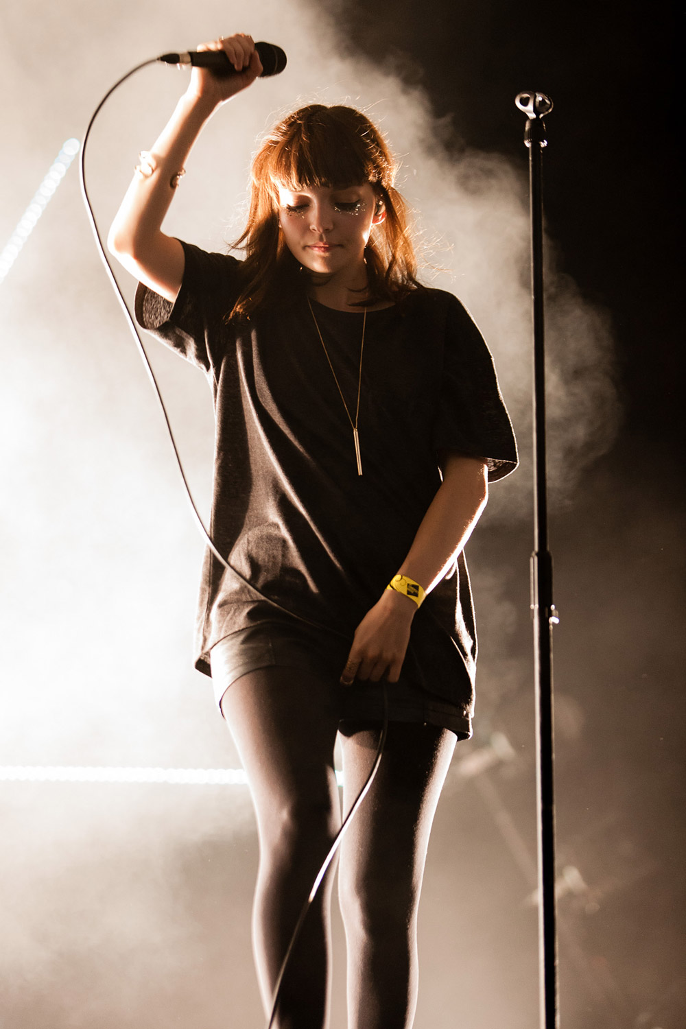 Chvrches @ Somerset House, London 17/07/14