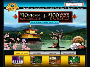 Lucky Emperor Casino Home