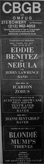 CBGB 11-24-76