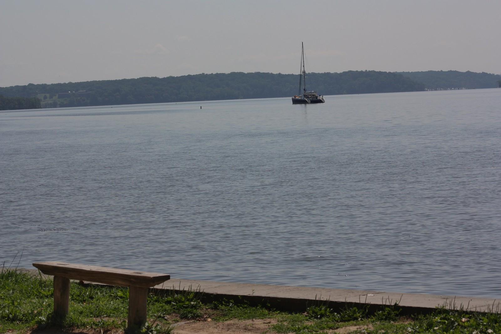 Mount Vernon Sail boat