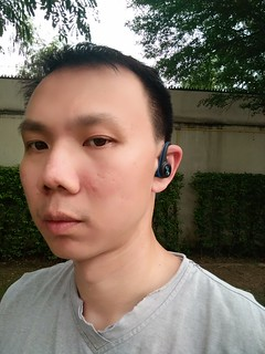 ใส่ Plantronics BackBeat Fit แล้ว