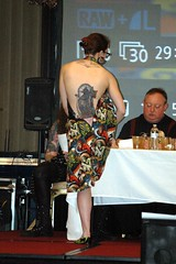 Laurence Harvey was one of the tattoo judges at Days of the Dead.