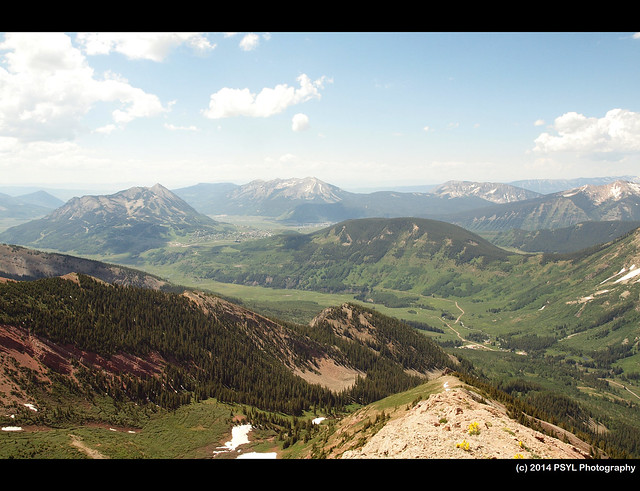 View from Avery Peak