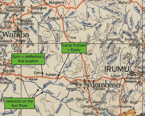 1951_Congo Belge _Ituri Forest Region