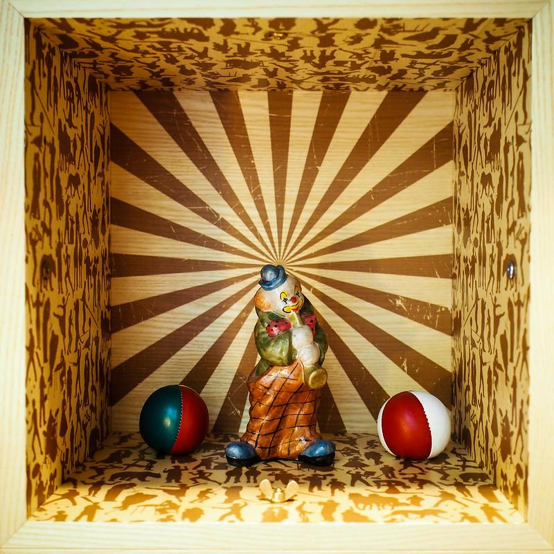 Scandic Paasi clown decoration